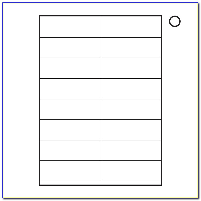 A4 Labels 24 Per Sheet Template