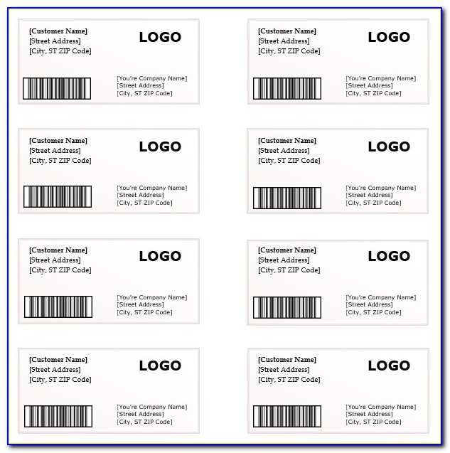 Address Labels Template For Word