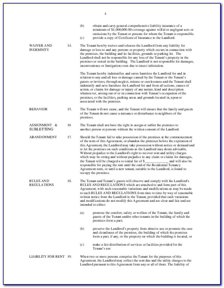 Apartment Eviction Notice Template