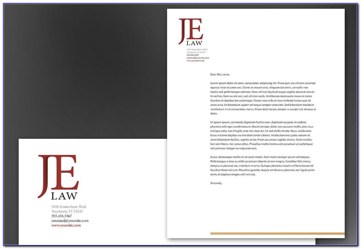 Attorney Letterhead Samples Free