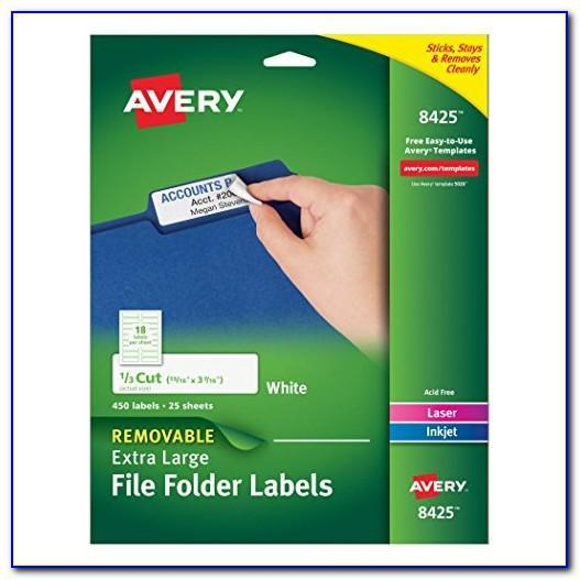 Avery Large Shipping Label Template