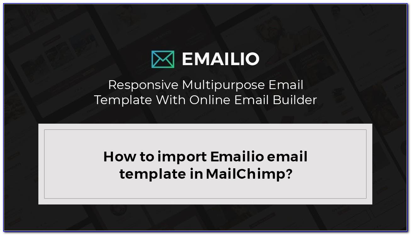 Best Email Newsletter Templates Mailchimp