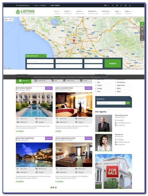 Best Joomla Real Estate Templates