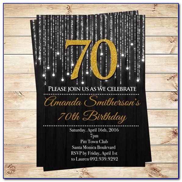 Birthday Invitation Template Freepik