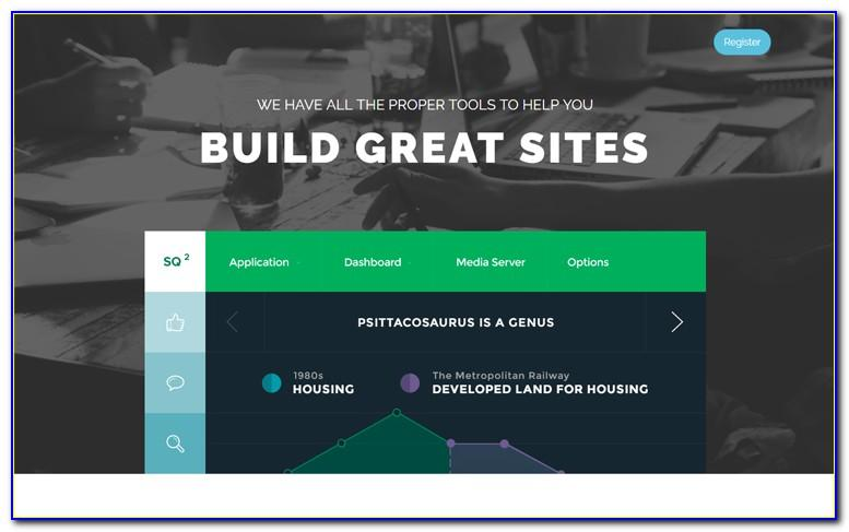 Bootstrap 3 Landing Page Template Free