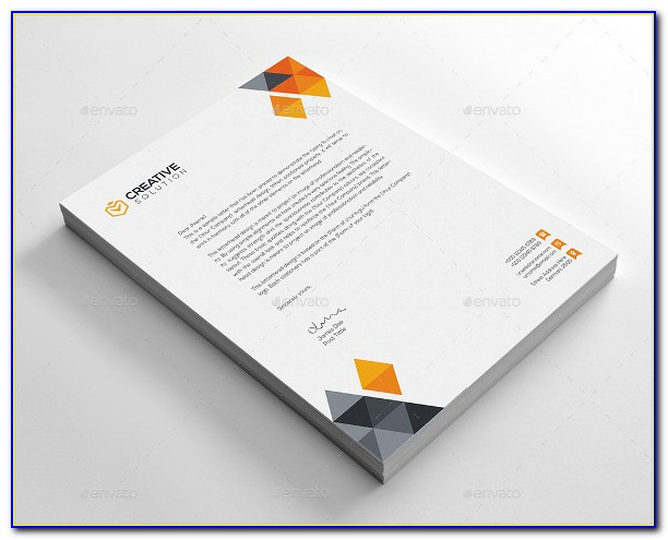 Company Letterhead Design Templates Free Download