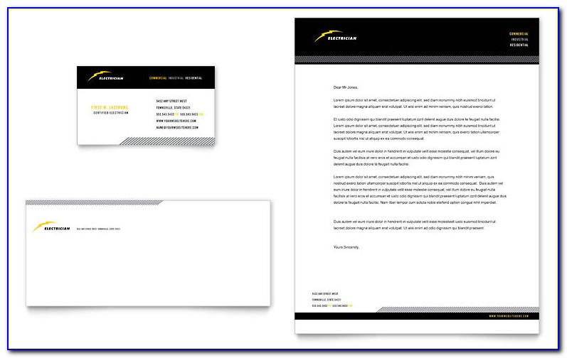 Company Letterhead Templates Free Download