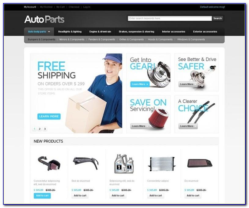 Ecommerce Website Templates Free Download Magento
