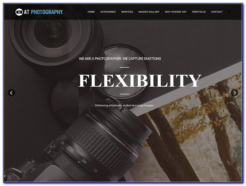 Free Joomla Photography Website Templates