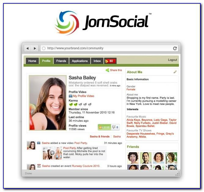 Free Joomla Social Network Template