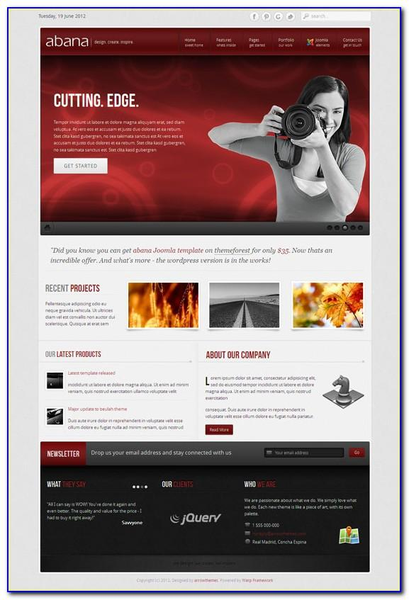 Free Joomla Template Maker Software