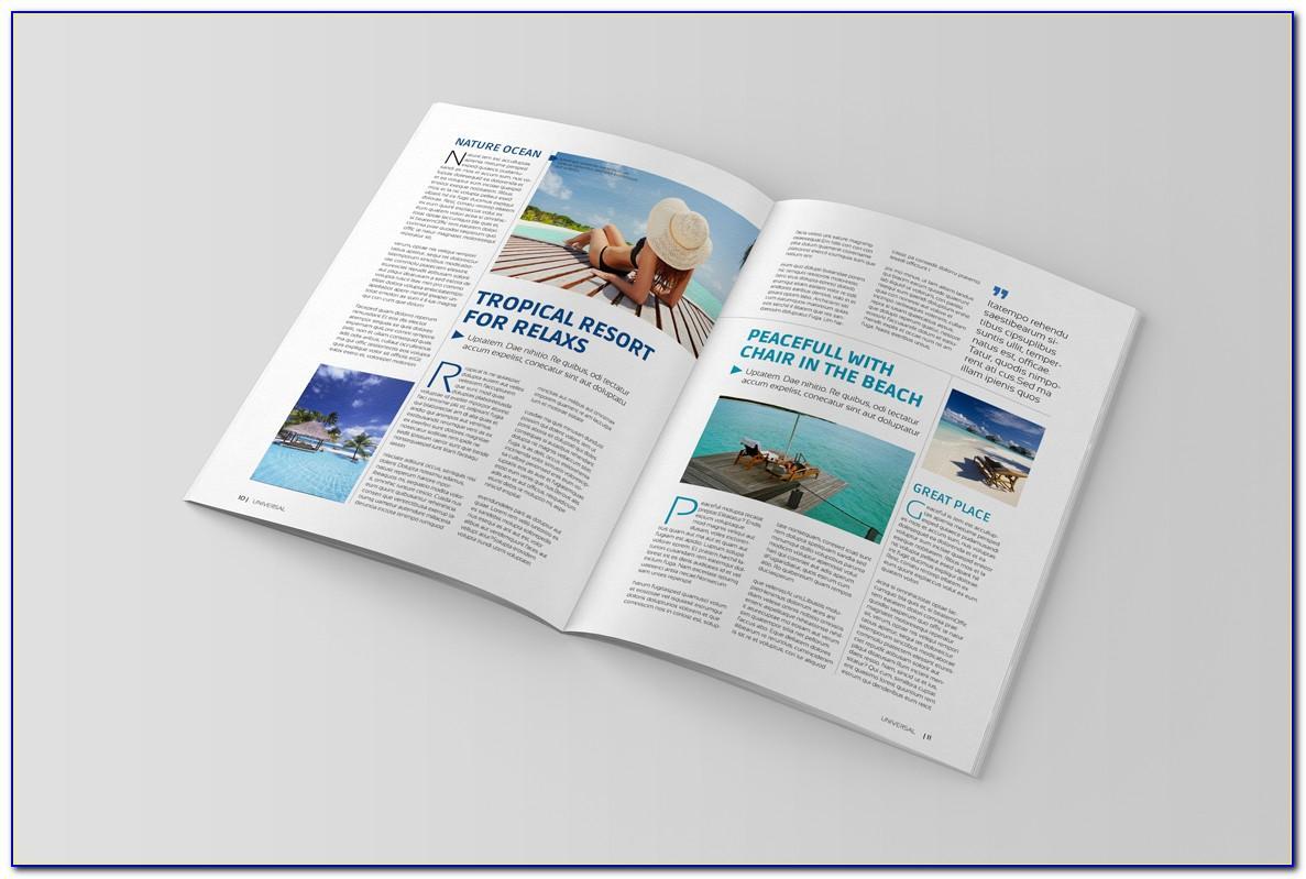 Free Magazine Template Indesign Cs6