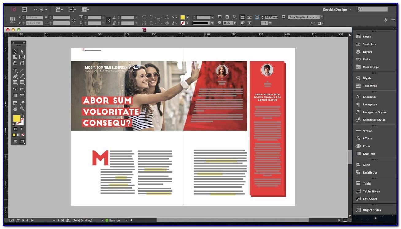 Free Magazine Templates For Indesign Cs6