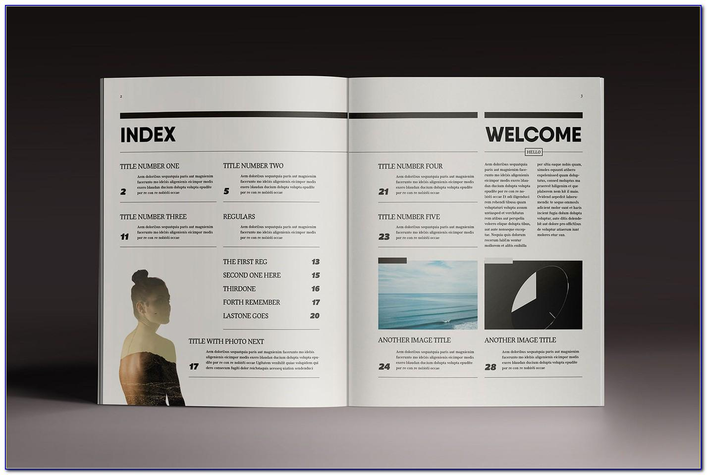 Free Magazine Templates For Indesign