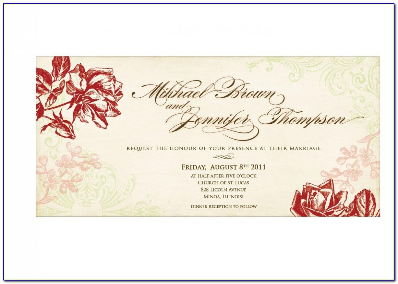 Indian Wedding E Invitation Templates
