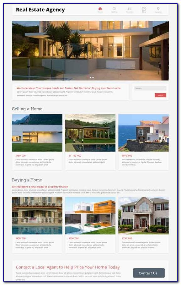 Joomla 3 Real Estate Templates