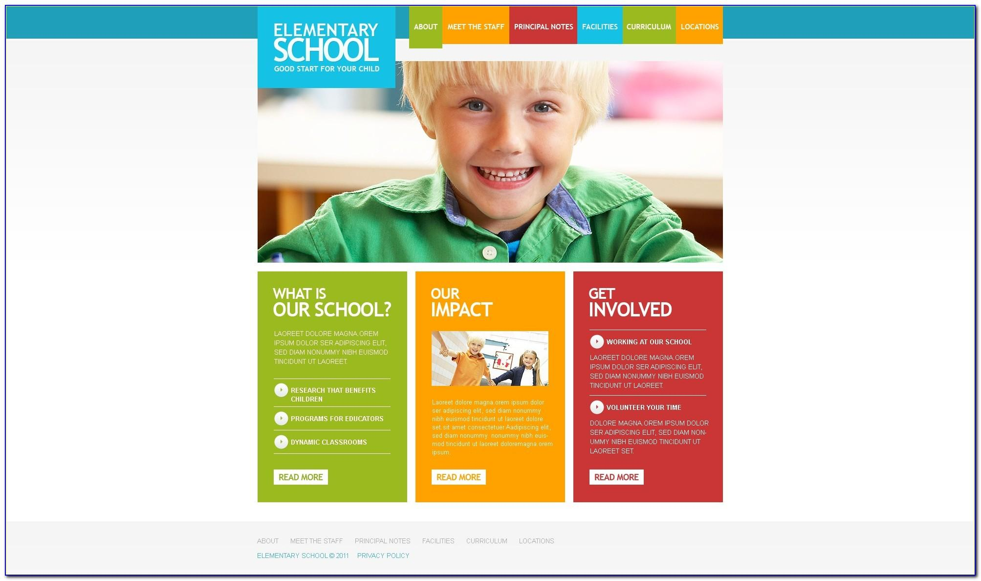 Joomla Education Template Free Download