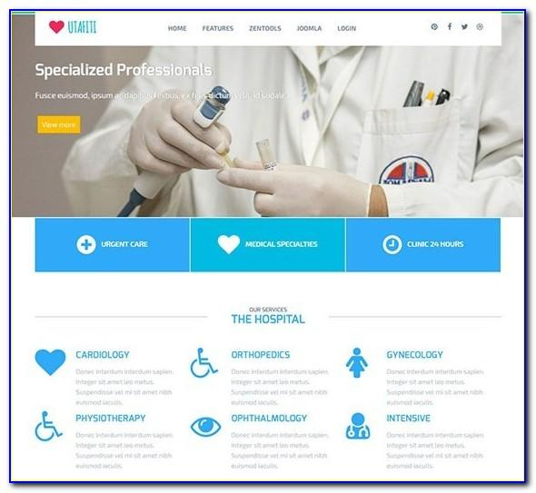 Joomla Medical Template Nulled