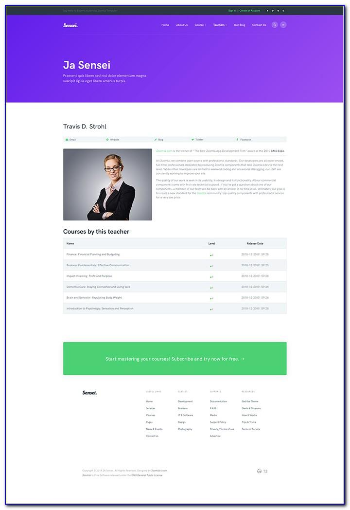 Joomla Online Business Directory Template