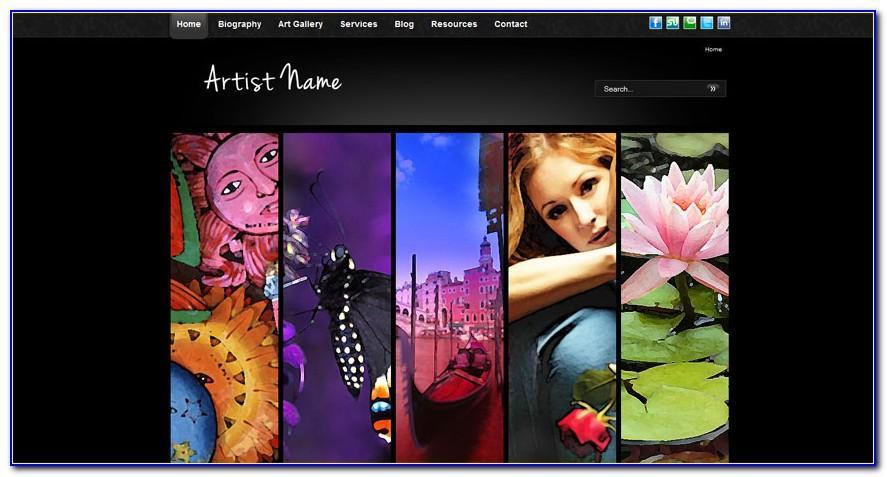 Joomla Portfolio Templates Free Download