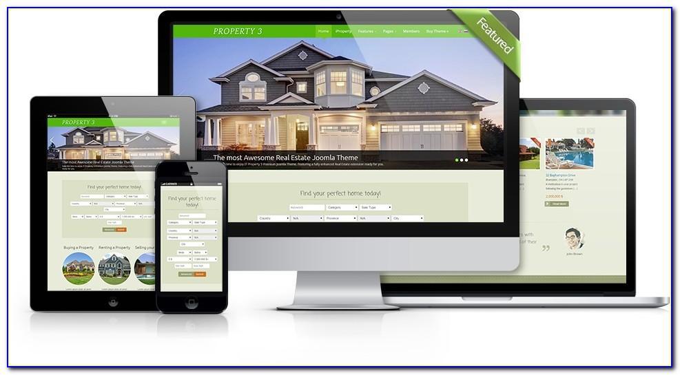 Joomla Real Estate Template 30