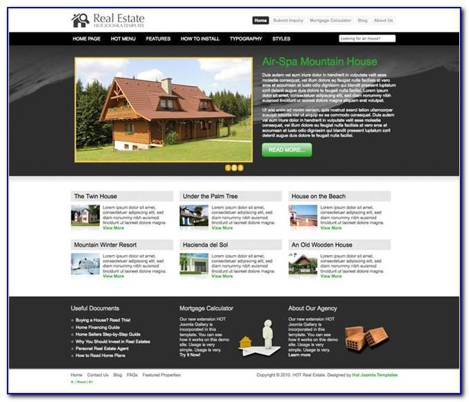 Joomla Real Estate Templates Free Download