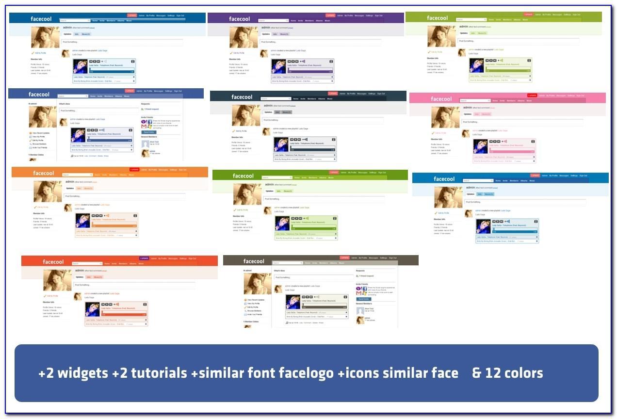 Joomla Social Media Template