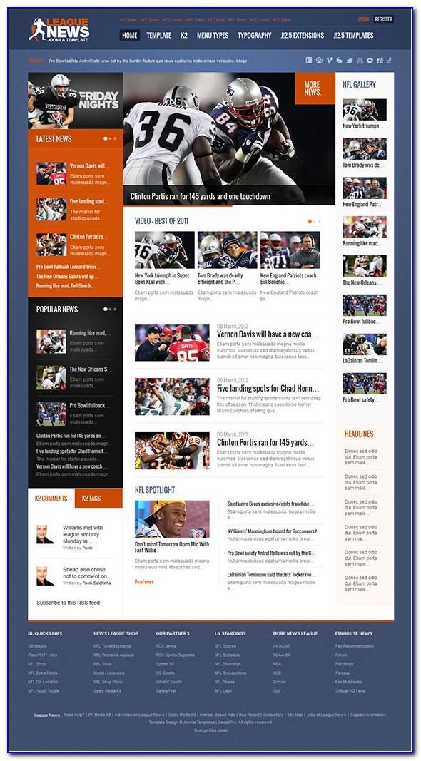 Joomla Sports Betting Templates
