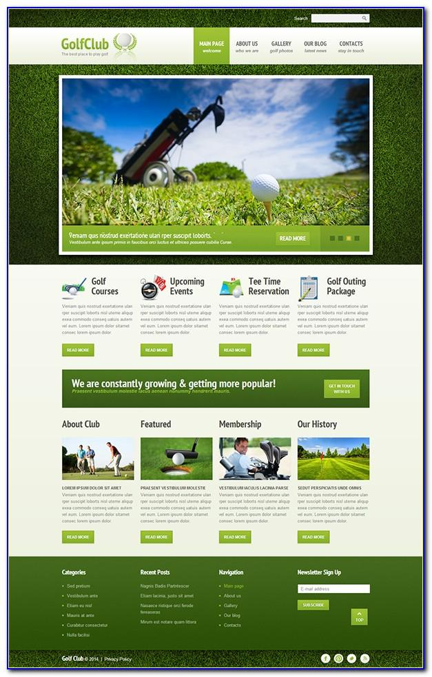 Joomla Sports Club Template Free