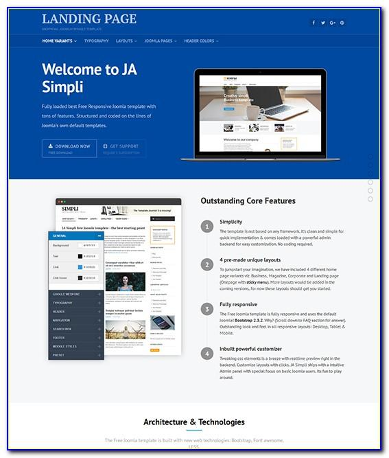 Joomla Sports Template Free Download