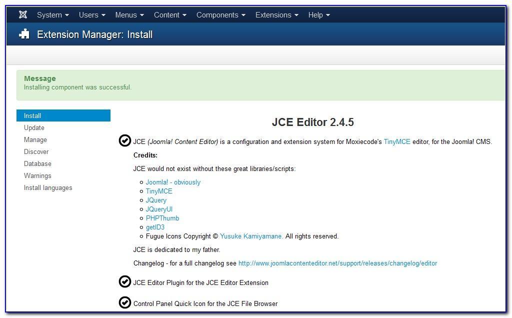Joomla Template Creator Mac