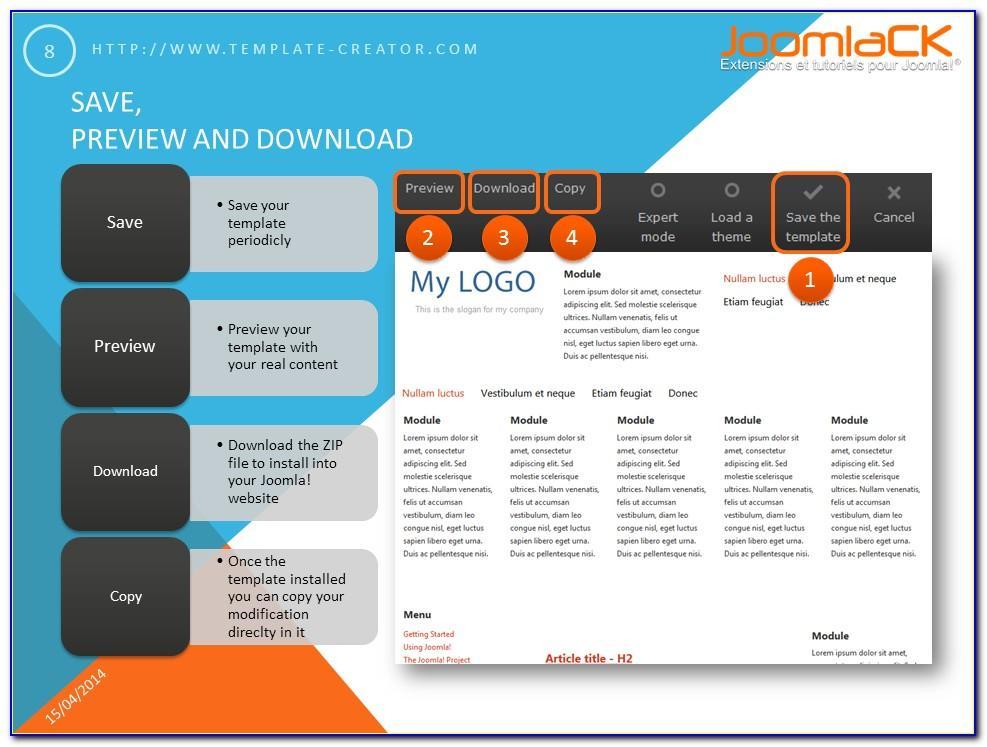 Joomla Template Designer Software