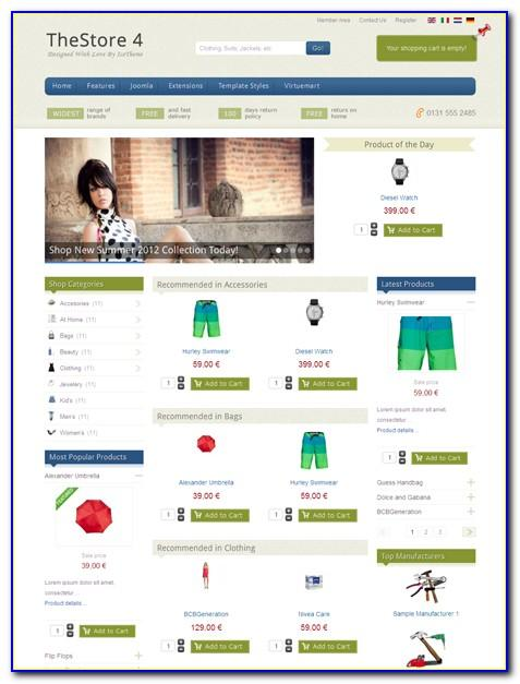 Joomla Template Responsive One Page Free