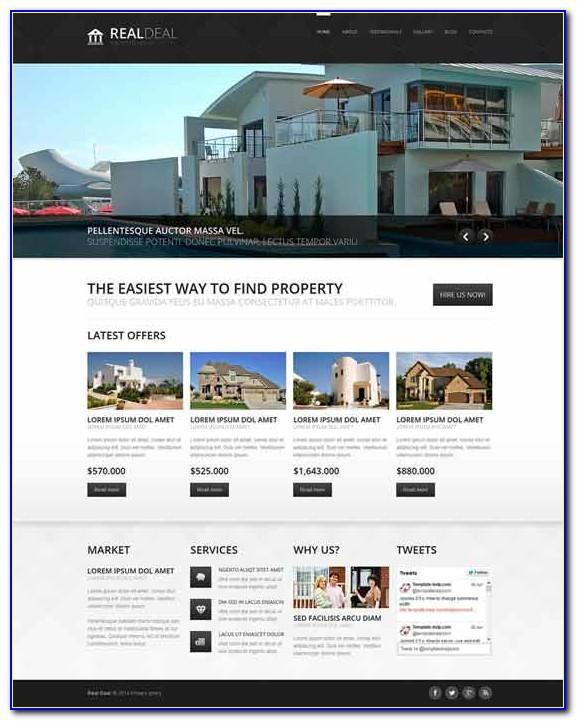 Joomla Templates Real Estate Agency