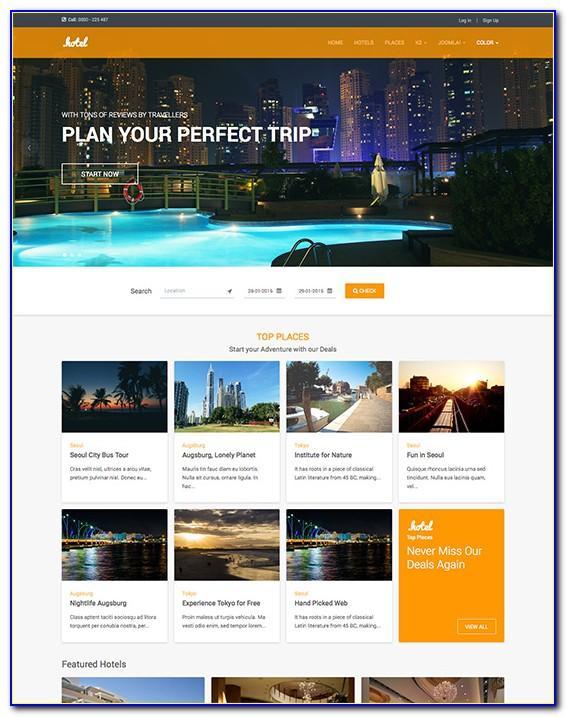 Joomla Templates Travel Agency Free