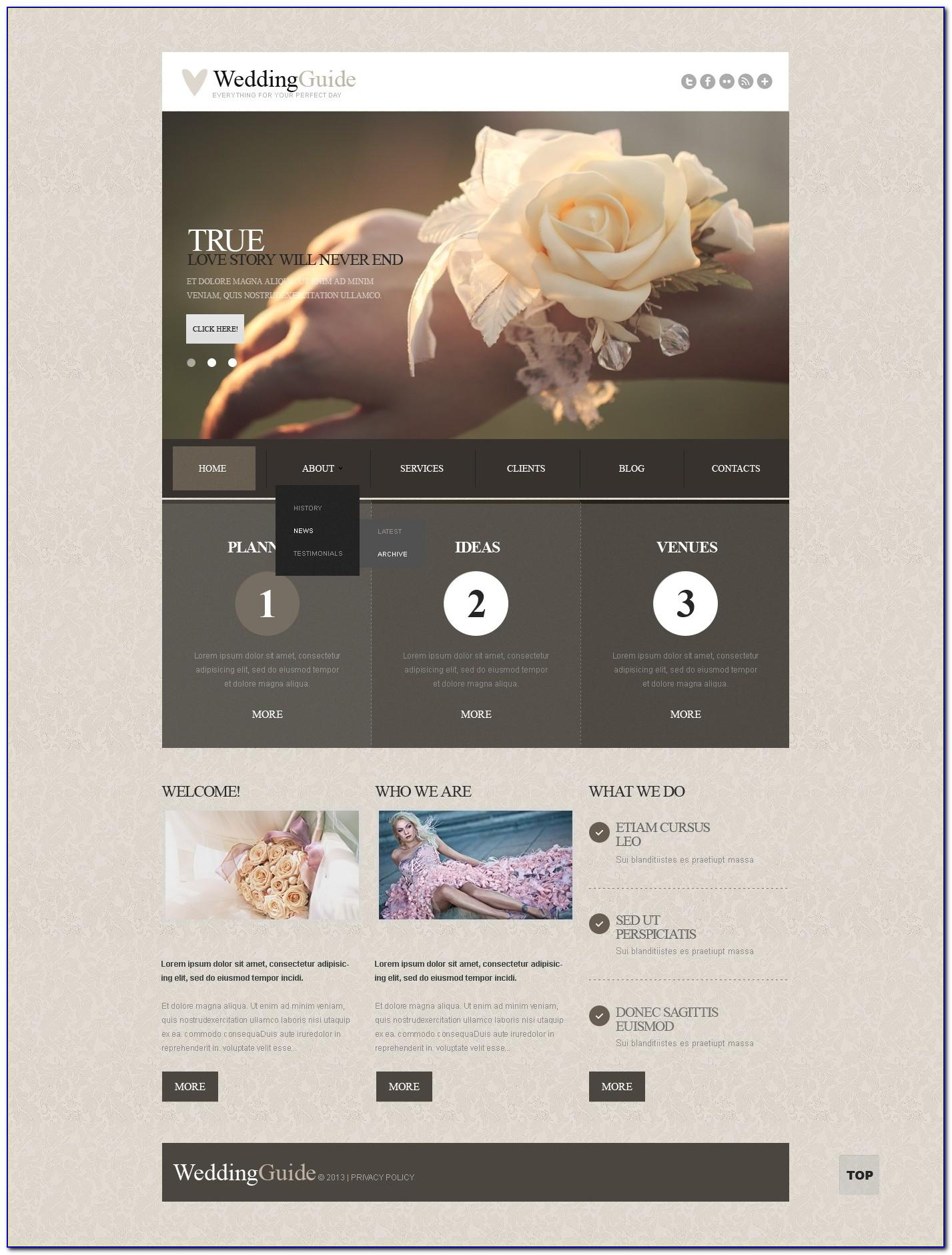 Joomla Wedding Template Free Download