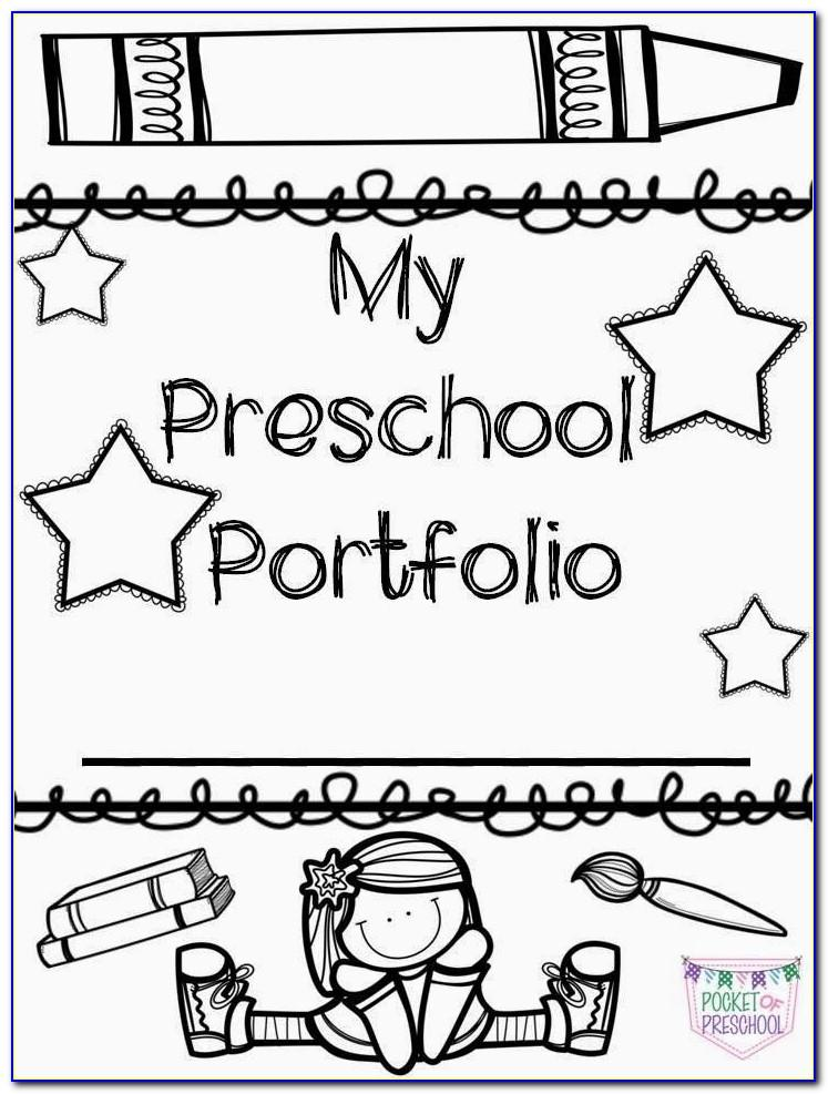 Kindergarten Electronic Portfolio Templates