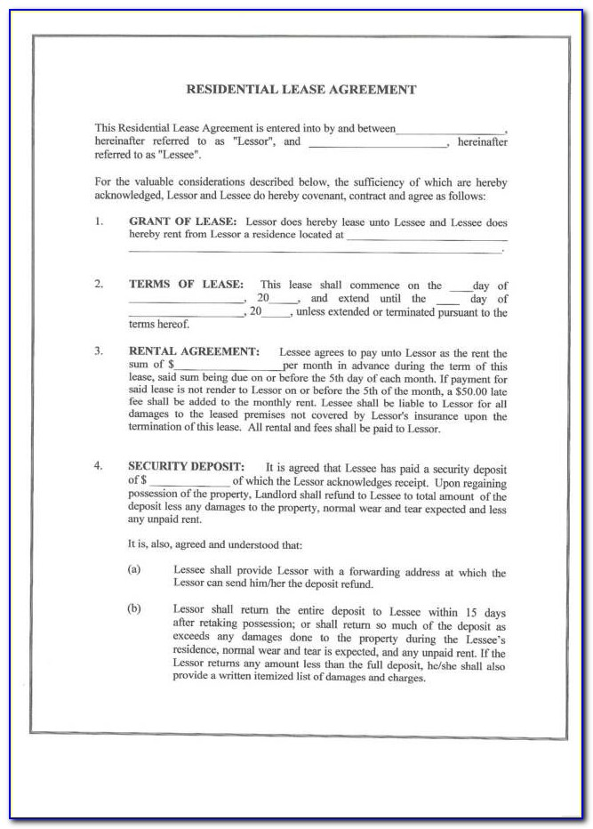 Land Lease Agreement Template Ireland Free