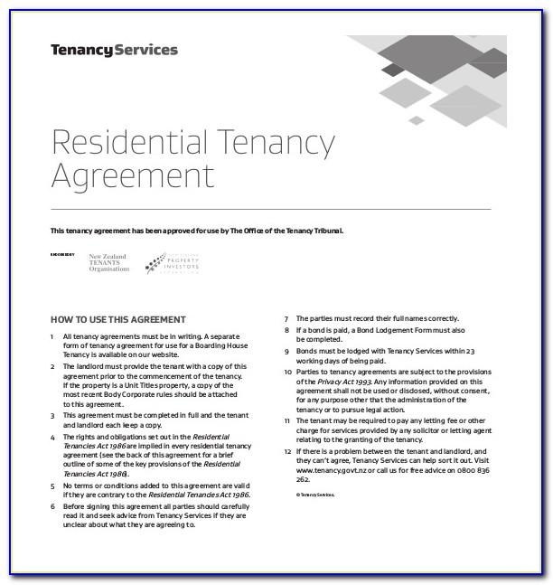 Land Lease Agreement Template Word