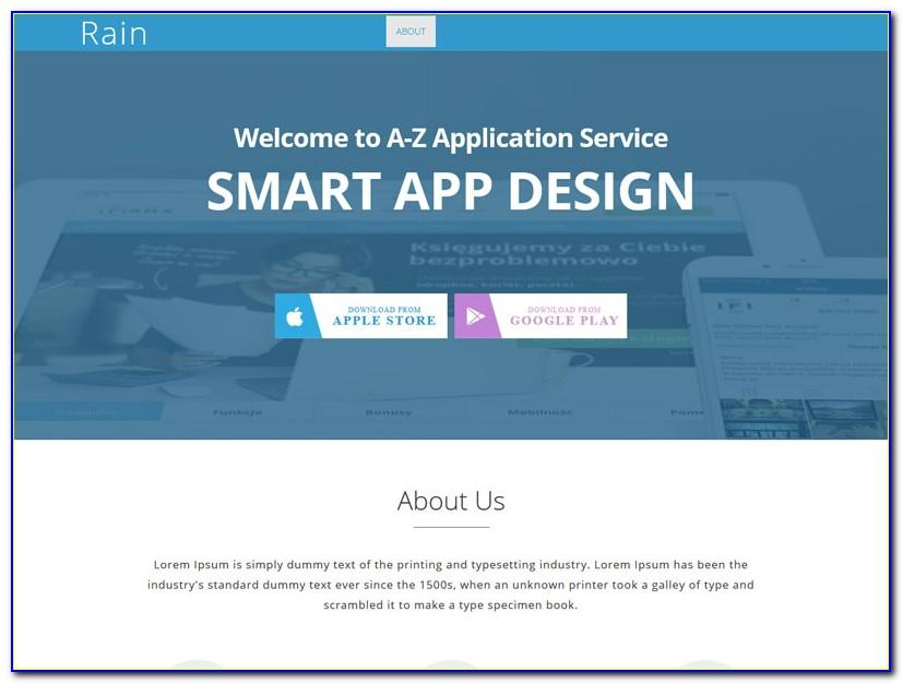Landing Page Bootstrap 4 Template Free