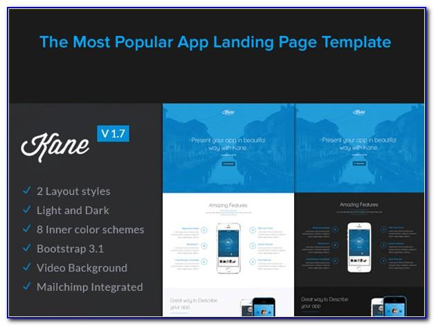 Landing Pages Bootstrap Templates Free