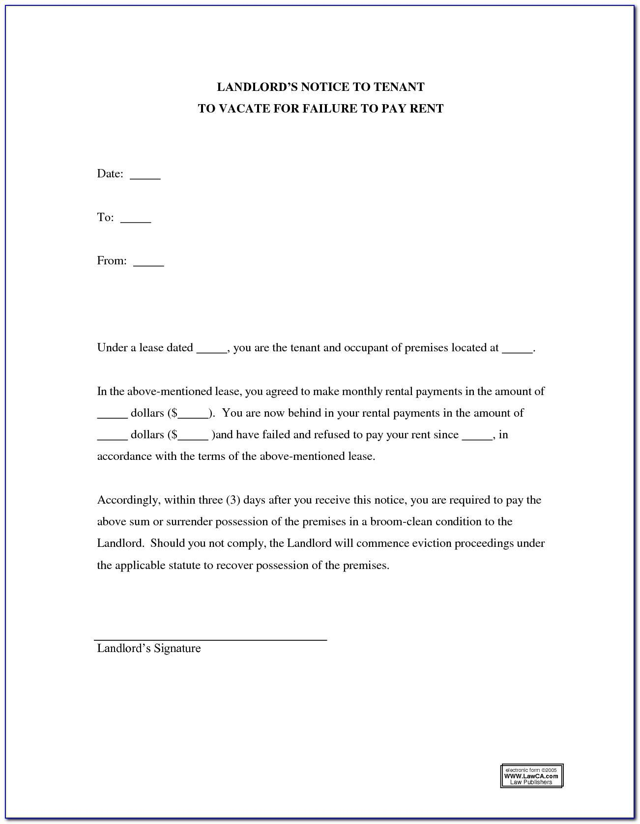 Landlord End Of Tenancy Letter Template Uk