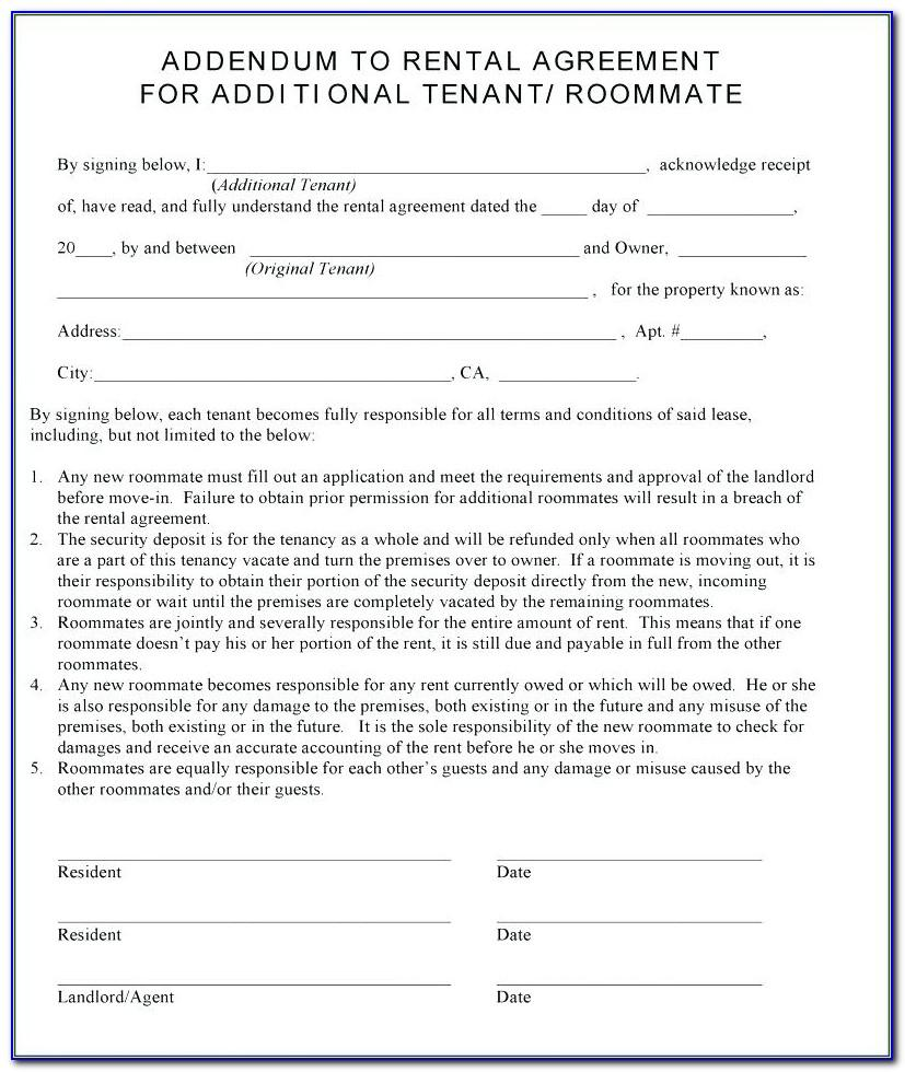 Landlord Rental Contract Template