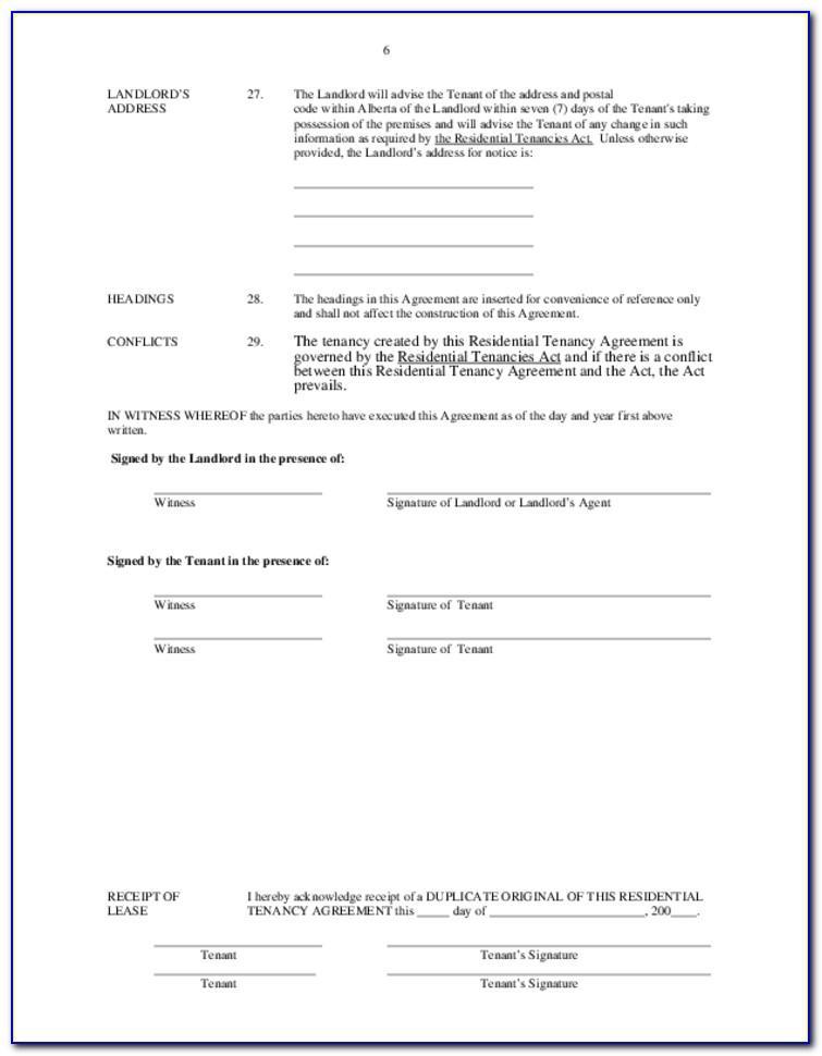 Landlord Tenancy Agreement Ireland