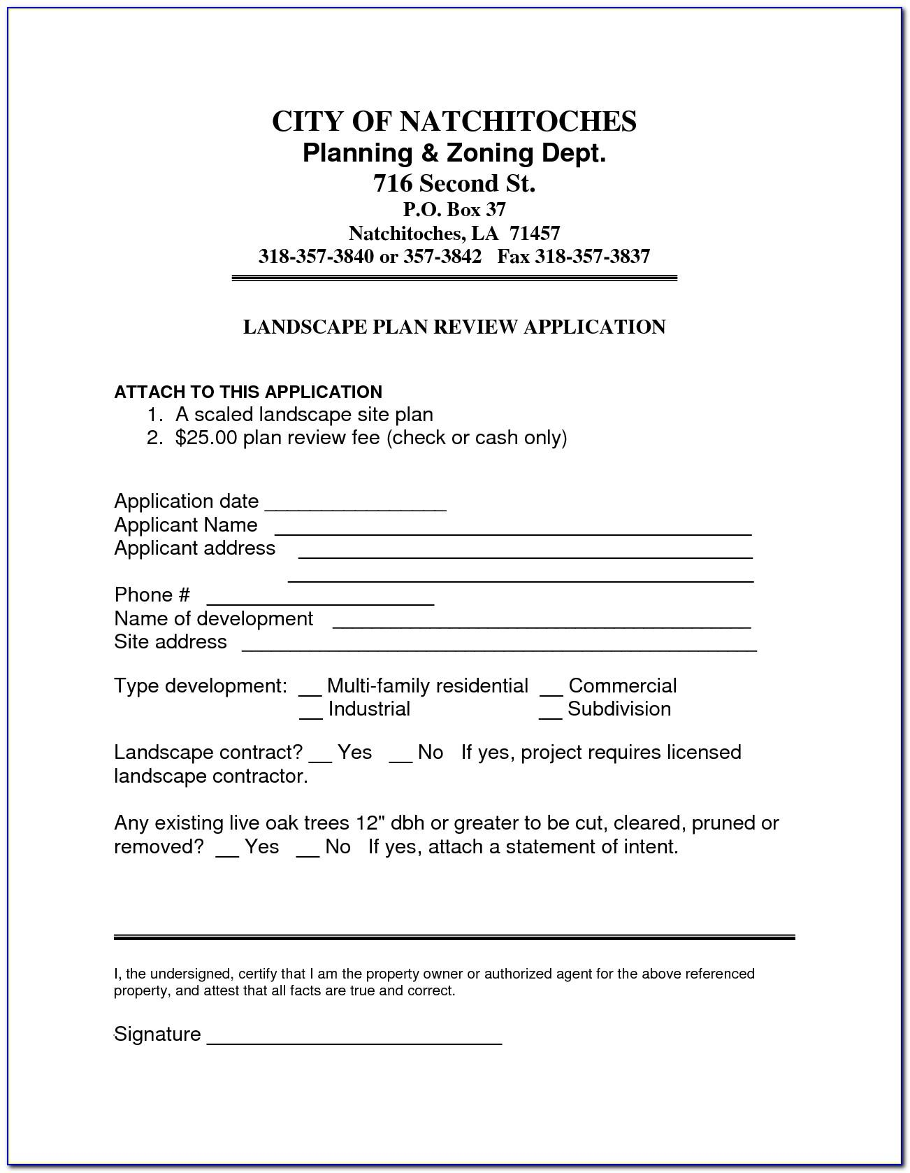 Landscaping Construction Contract Template