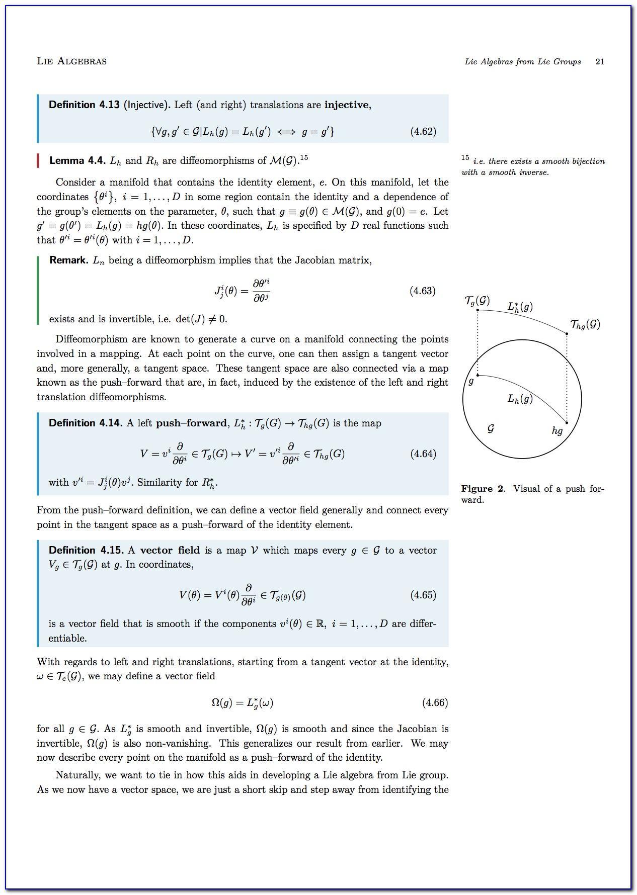 Latex Example Curriculum Vitae
