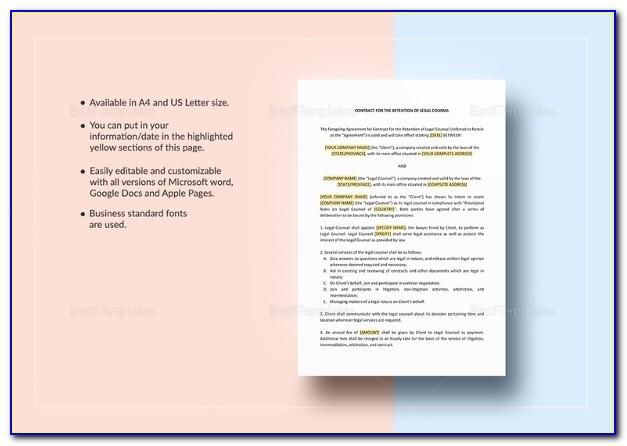 Law Firm Billable Hours Template