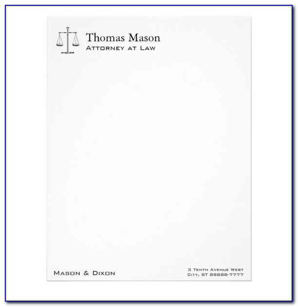 Lawyer Law Firm Brochure Word Template