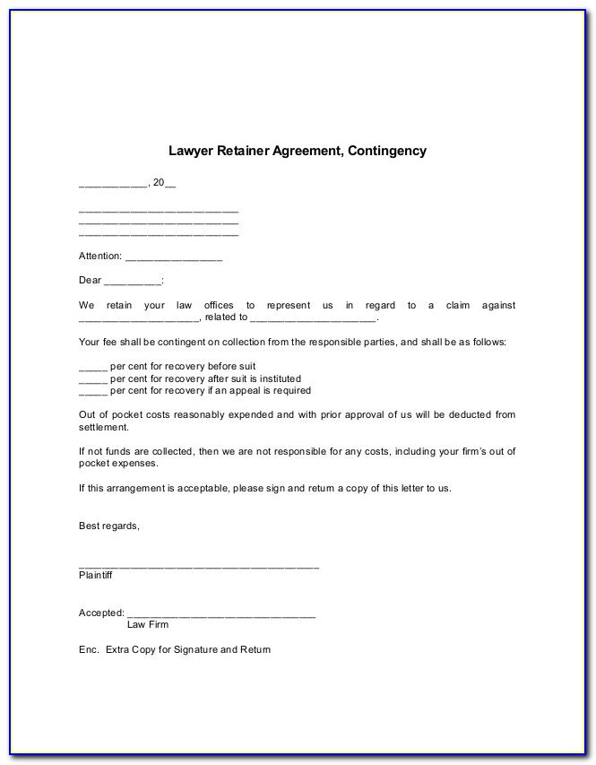 Lawyer Retainer Agreement Sample Philippines