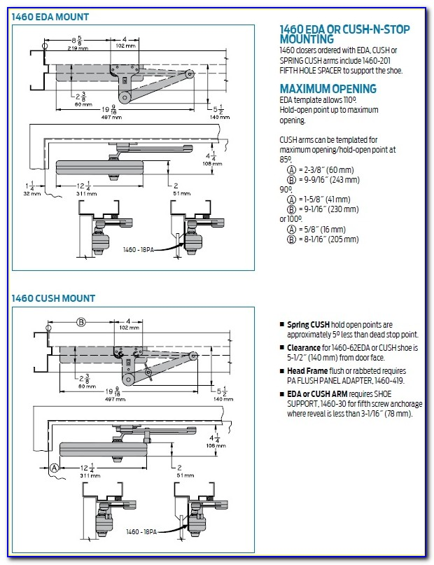 Lcn 4011 Door Closer Installation Instructions